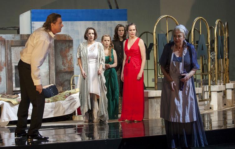 MANDERLAY von Lars von Trier. Inszenierung von Jan Langenheim. Rose: Katja Zinsmeister