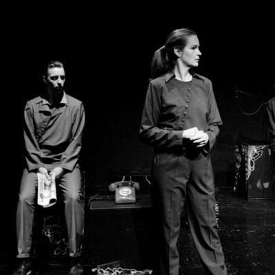 Katja Zinsmeister, Brachland Ensemble, Revolution: Alles wird gut!, Theater Aachen Revolution: Alles wird gut!